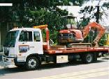 Advanced Towing can deliver your construction equipment to any location.
